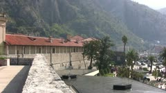 Kotor Old Town Stock Footage