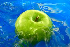 Apple water Stock Photos
