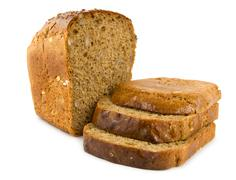 Stock Photo of bread isolated on a white