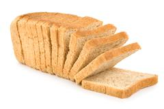 Fresh white bread Stock Photos