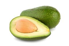 tropical fruit avocado - stock photo