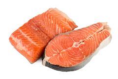 fish isolated - stock photo