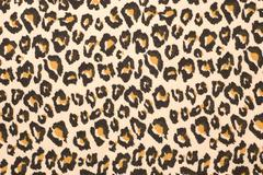 leopard print textured background - stock photo
