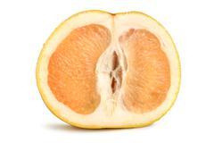 Ripe grapefruit isolated Stock Photos