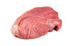 red raw beef - stock photo