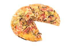 Stock Photo of combo pizza