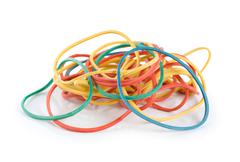 Elastic bands Stock Photos