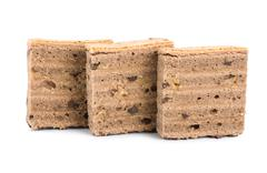 Three cookies isolated Stock Photos