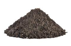 Stock Photo of pile of soil