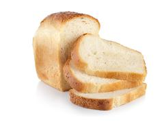 Tuoretta valkoista leipää Kuvituskuvat