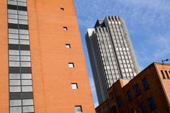 High rise tower block architecture Stock Photos