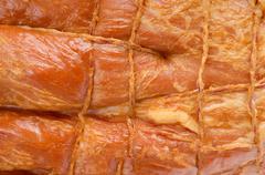 bacon background - stock photo