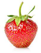 ripe strawberries - stock photo