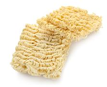 Pasta of fast preparation Stock Photos
