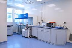 laboratory indoor - stock photo
