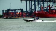 Cargo Dock, Dockyard, Shipping Industry Stock Footage