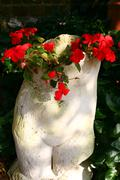Stock Photo of garden sculpture