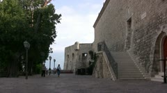 Budva Old Town - stock footage