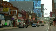 Stock Video Footage of Detroit -Greektown