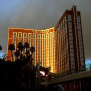 Treasure Island Casino, Las Vegas Stock Photos