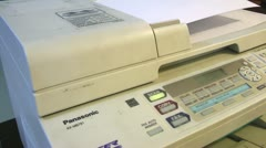 Printers, Laser, Scanners, Copiers, FAX Machines Stock Footage