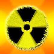 Ydinvoima varoitus räjähdys Kuvituskuvat