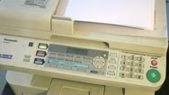 Stock Video Footage of Printers, Laser, Scanners, Copiers, FAX Machines