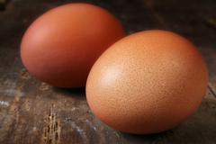 Stock Photo of eggs rustic