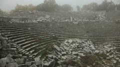 Ancient city Termessos at Turkey Stock Footage