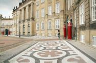 Stock Photo of queens royal castle denmark copenhagen