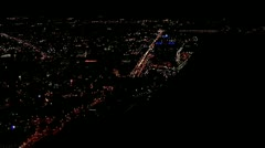 Detroit by Helicopter - stock footage