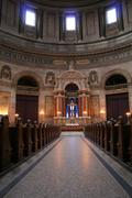 church marble copenhagen interior - stock photo