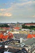 copenhagen city capital denmark - stock photo