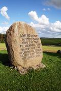 hamlet grave prince - stock photo