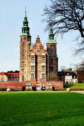 rosenborg castle copenhagen - stock photo
