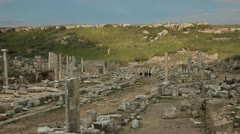 Ancient City Of Perge - stock footage