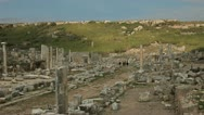 Stock Video Footage of Ancient City Of Perge