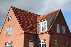 house brick denmark - stock photo