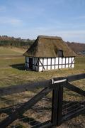 farm house danish denmark - stock photo