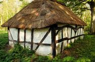 Stock Photo of thatched cottage hut