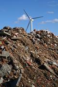 Stock Photo of wind turbine