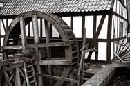 Stock Photo of watermill