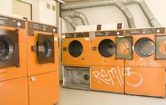 Launderette pesukone Kuvituskuvat