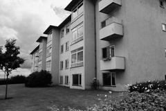 Apartments flats Stock Photos