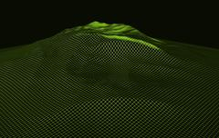 Stock Illustration of virtual landscape