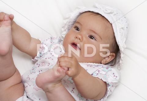 Stock photo of Playful baby