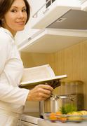 cook-book - stock photo