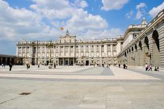 royal palace, madrid - stock photo