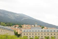 el escorial, madrid - stock photo