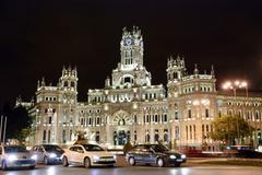 Palacio de cibelis, madrid Stock Photos
